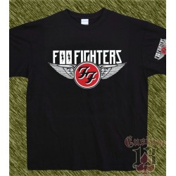 Camiseta negra, foo fighters, new