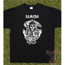Camiseta, Samcro, sons of anarchy