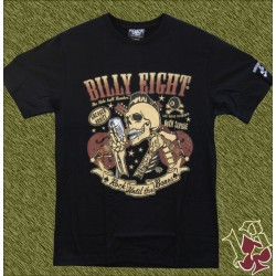 Camiseta Billy eight, rock until the bones
