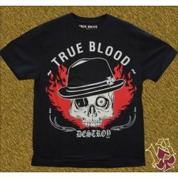 Camiseta True Blood, skull destroy