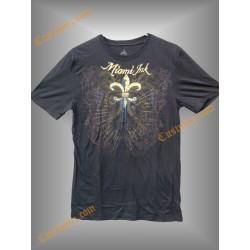 camiseta Miami Inc, flor de lis