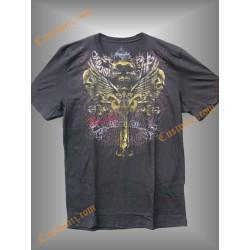 camiseta Miami Inc, calaveras alas