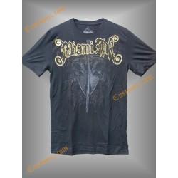 camiseta Miami Inc, espada y escudo