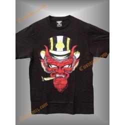 camiseta 666, el diablo