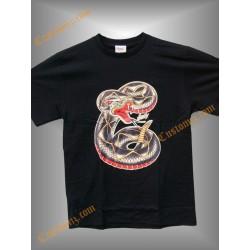camiseta sailor jerry, serpiente