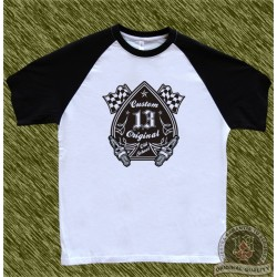 camiseta beisbol, custom 13