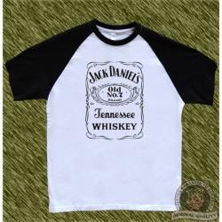 camiseta beisbol, jack daniel's