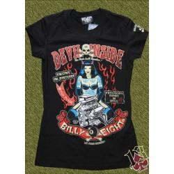 Camiseta Billy eight, devil inside