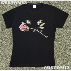 Camiseta mujer, Eye rose