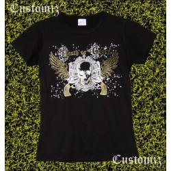 Camiseta custom, Death or glory