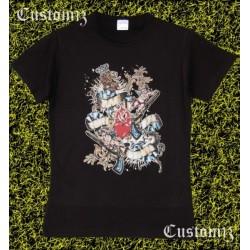 Camiseta mujer, Heraldico pistolas