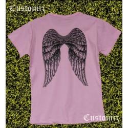 Camiseta mujer, alas