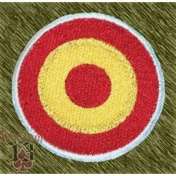 Parche bordado, bandera aviación