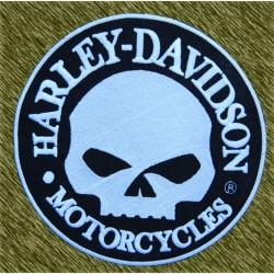 Parche calavera harley, grande