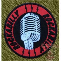 Parche Rockabilly redondo