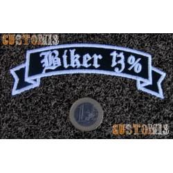 Parche banda Biker 13%
