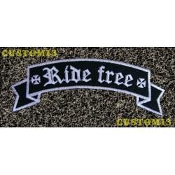 Parche banda Ride Free