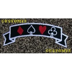 Parche banda figuras poker