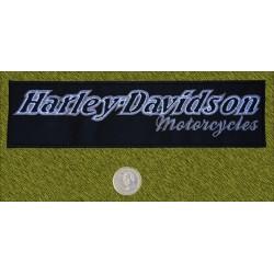 Parche Harley Davidson letras grises II