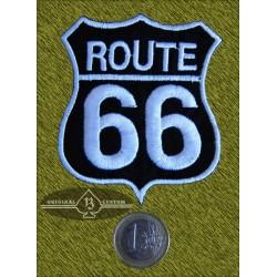 Parche Ruta 66 negro