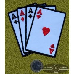 Parche Poker de ases nuevo