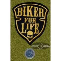 Parche Biker for life