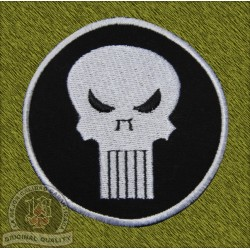 Parche Punisher redondo