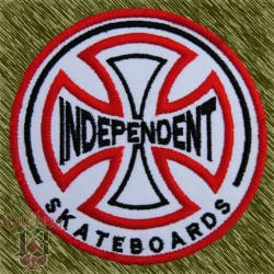 Parche bordado, independent, skate