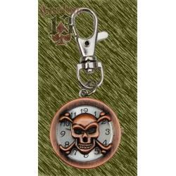 Reloj calavera con mosquetón