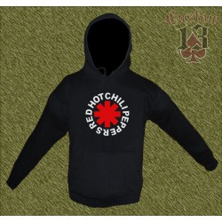 Sudadera sin cremallera, red hot chili peppers