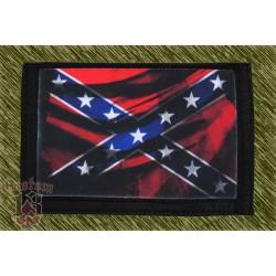 cartera nylon con cadena, bandera sureña