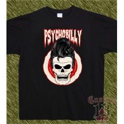 Camiseta negra, psychobilly