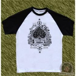 camiseta beisbol, cus13tom