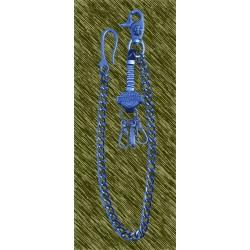 cadena envejecida harley logo