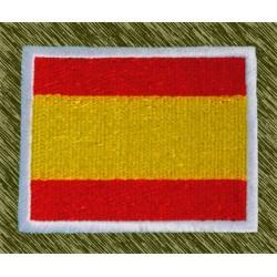 parche bordado, bandera españa 7 x 5,5