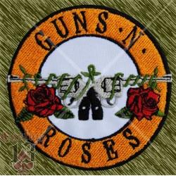 Parche bordado, guns n roses logo espalda