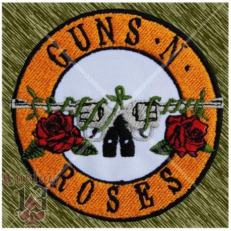 Parche bordado, guns n roses logo nuevoespalda