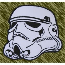 parche bordado, soldado imperial cabeza