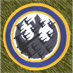 parche bordado, escuadrón alianza