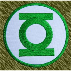 parche bordado, green lantern