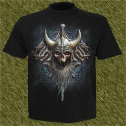 Camiseta dark13, vikingo