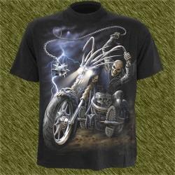 Camiseta dark13, Trueno del biker