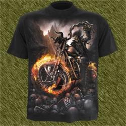 Camiseta dark13, Refugio del biker