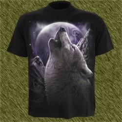 Camiseta dark13, Aullido del lobo