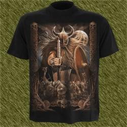 Camiseta dark13, ejercito de Odín