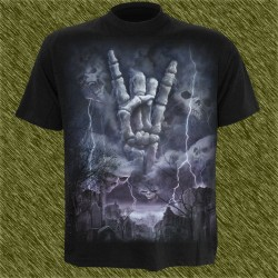 Camiseta dark13, tormenta de rock