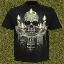 Camiseta dark13, pentáculo de cera