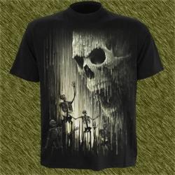 Camiseta dark13, lluvia de cera