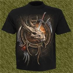 Camiseta dark13, muerte al dragón