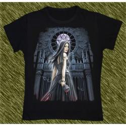 Camiseta Dark13 mujer, luna llena